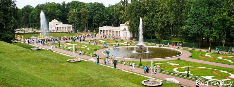 достопримечательности петергофа - парк и фонтаны