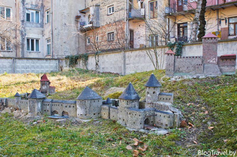 парк миниатюр во Львове