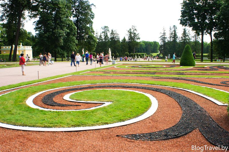 Екатерининский парк в Царском Селе