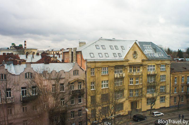 Отель во Львове Днистер
