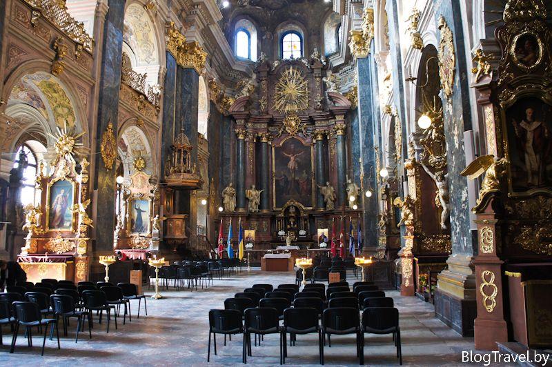 костелы Львова
