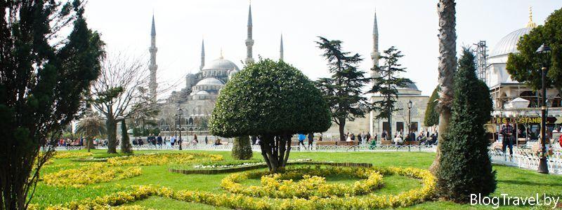 Стамбул - город мечетей, рынков, котов
