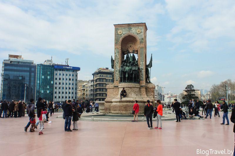 Маршрут по Стамбулу