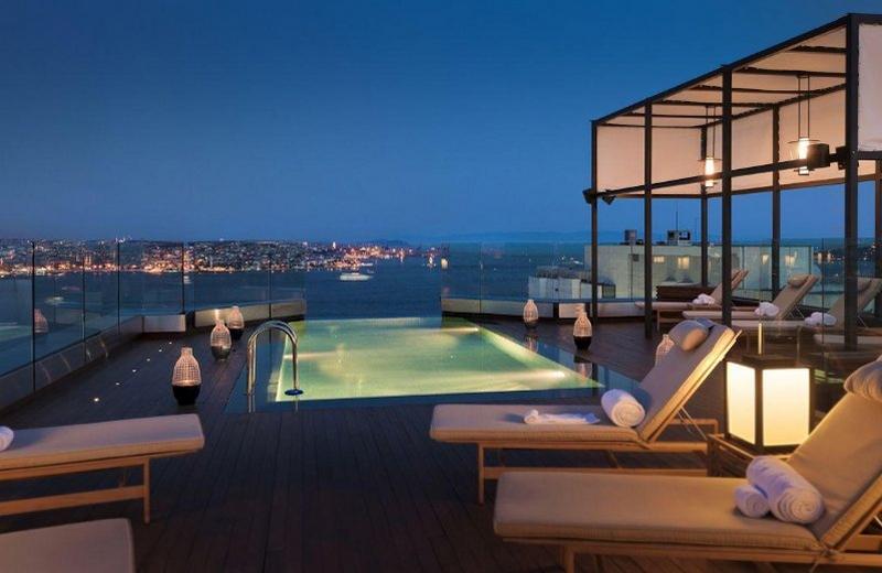 Отели в Стамбуле с видом на Босфор
