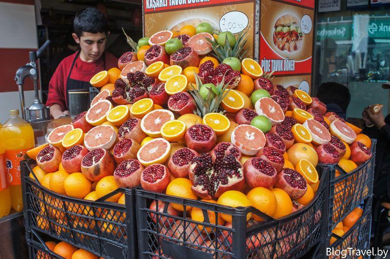 Уличная еда в Стамбуле