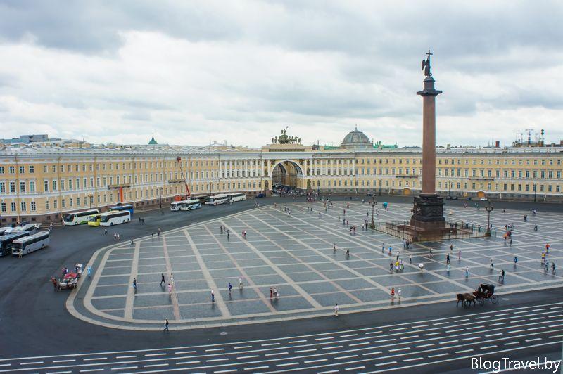 Центр Санкт-Петербурга - Дворцовая площадь