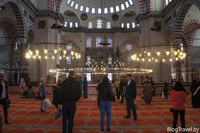 Мечеть султана Сулеймана в Стамбуле