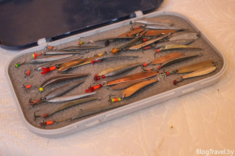 Зимняя рыбалка на Могилевщине