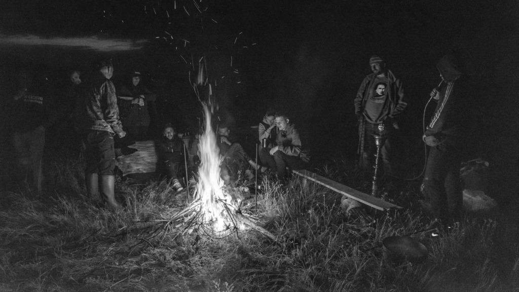 Ночевка на берегу Немана