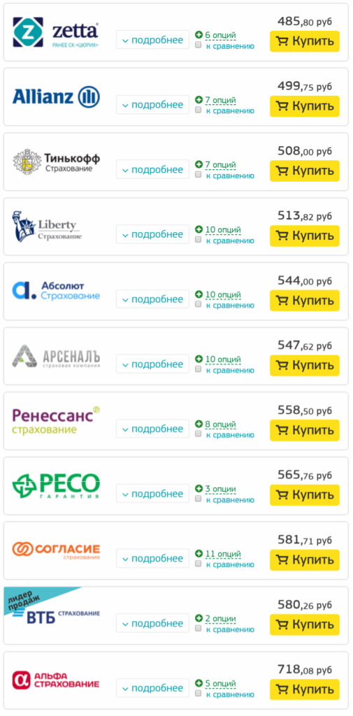 Цены на страховку в Финляндию