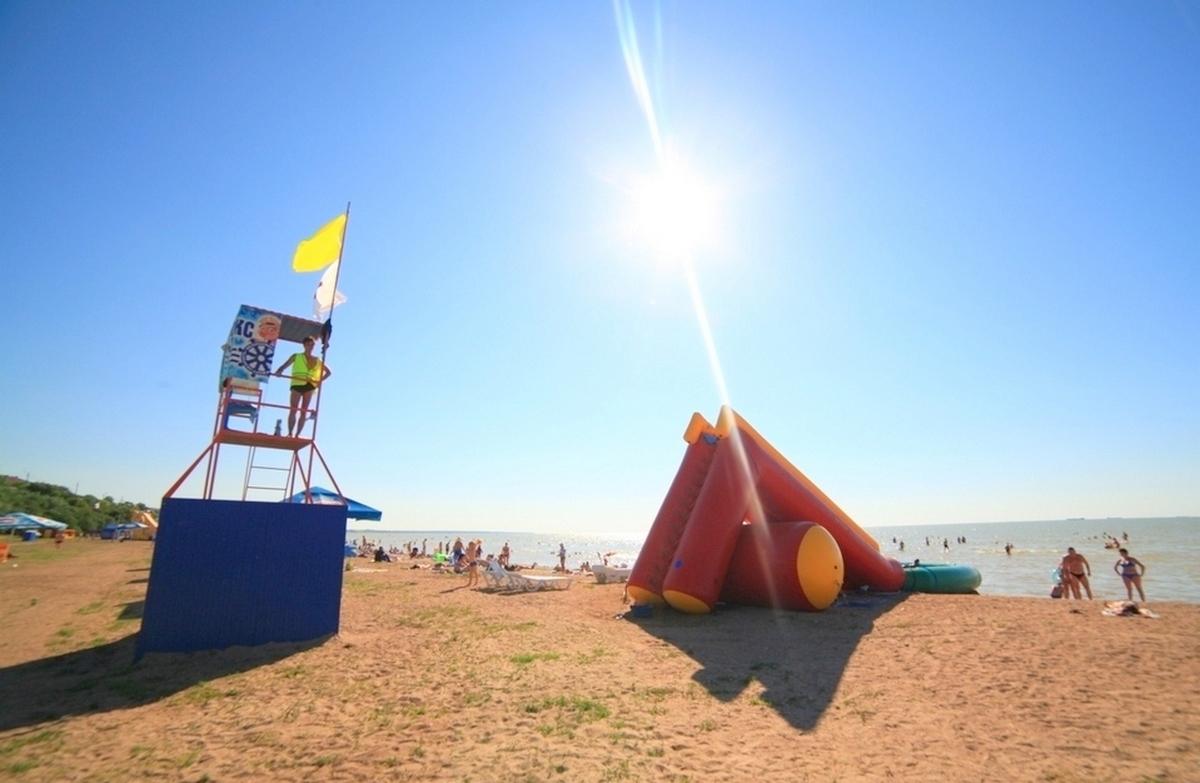 Пляжи Ейска