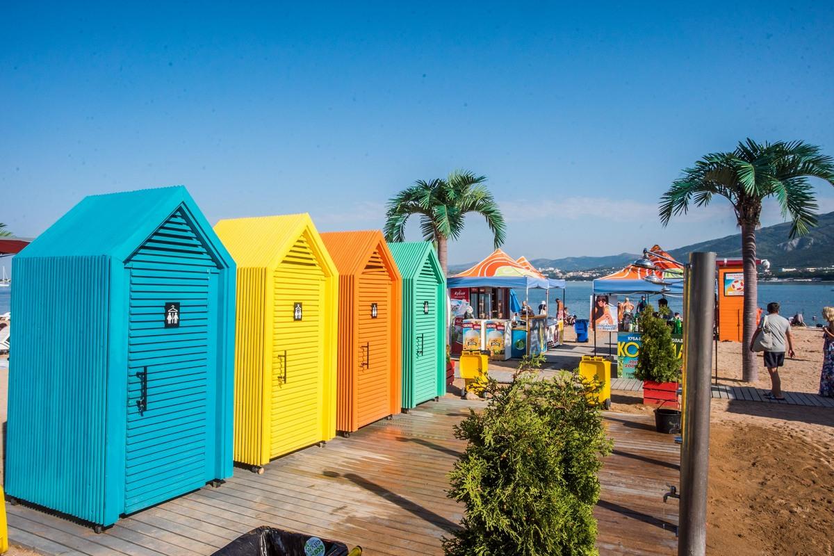 Пляжи Геленджика