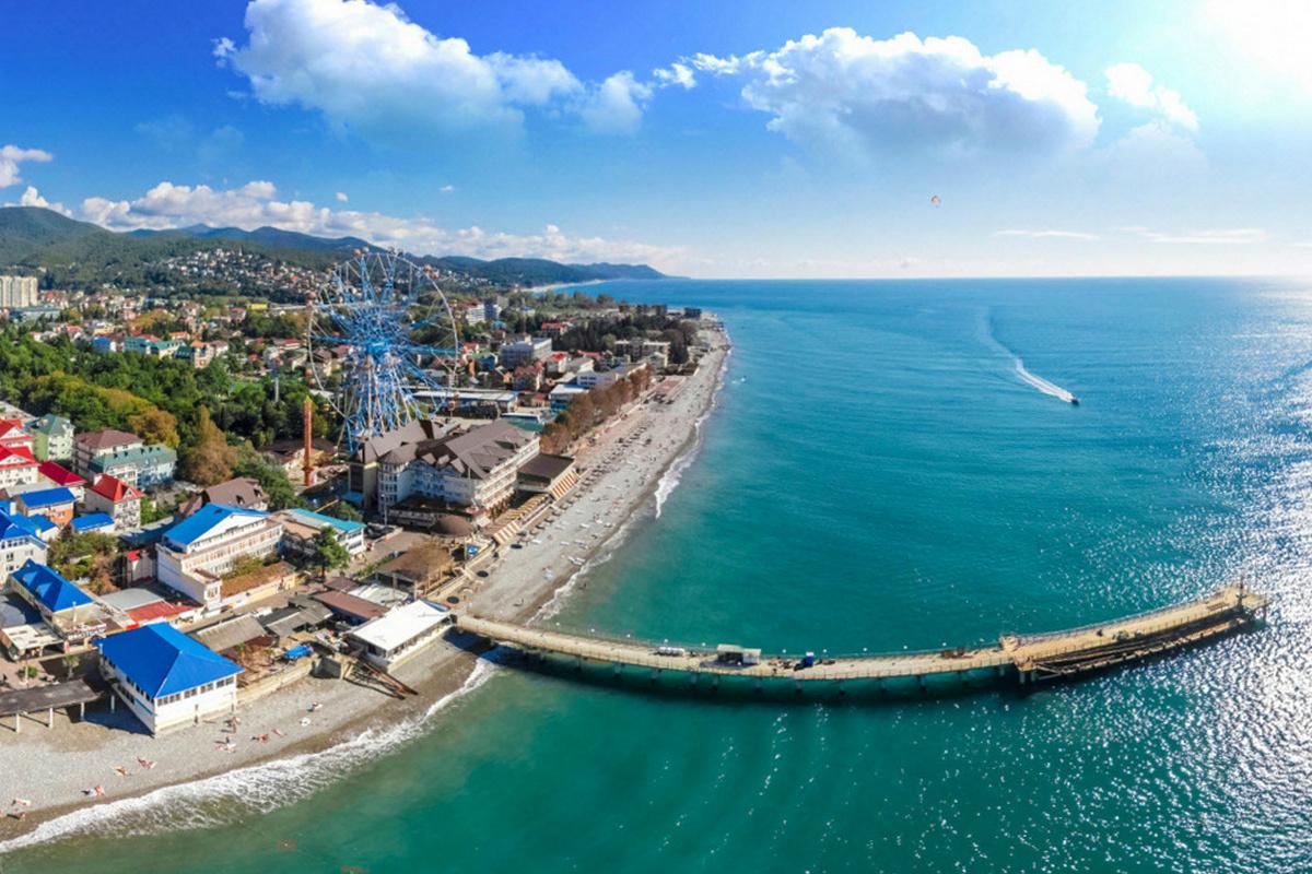 Пляжи Лазаревского