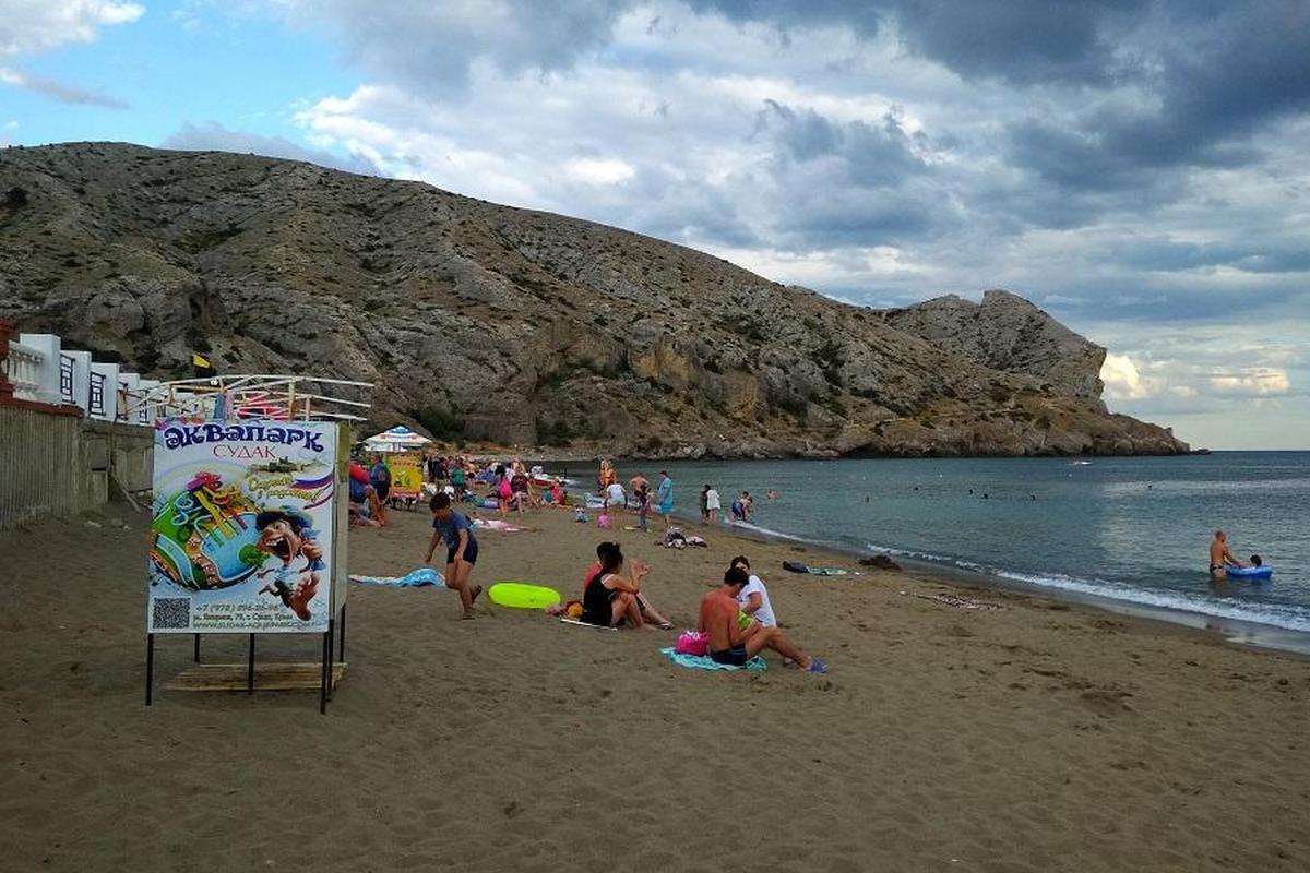 Пляжи Судака