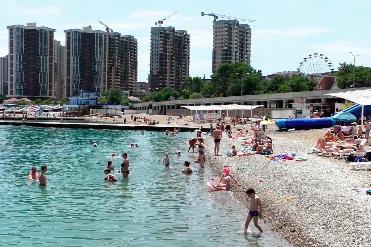 Пляжи Новороссийска