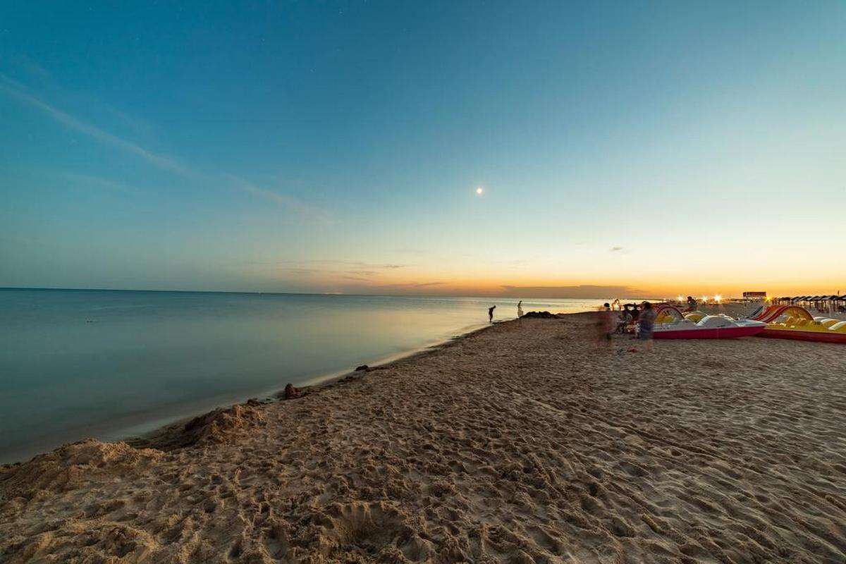 Пляжи Витязево
