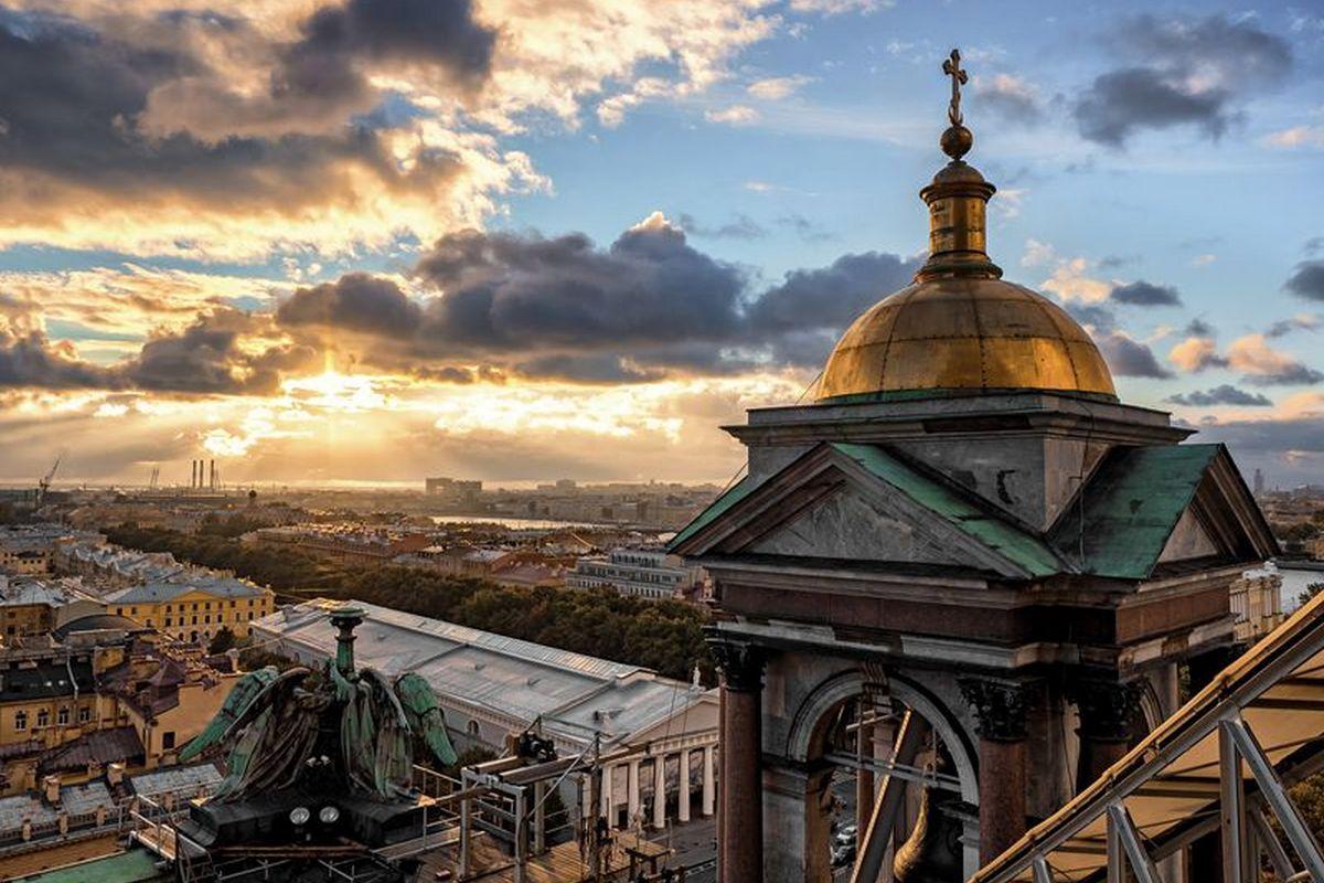 Экскурсии по крышам Санкт-Петербурга