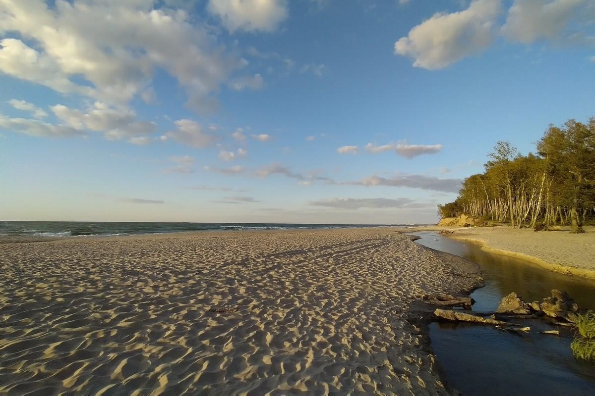 Пляжи Зеленоградска
